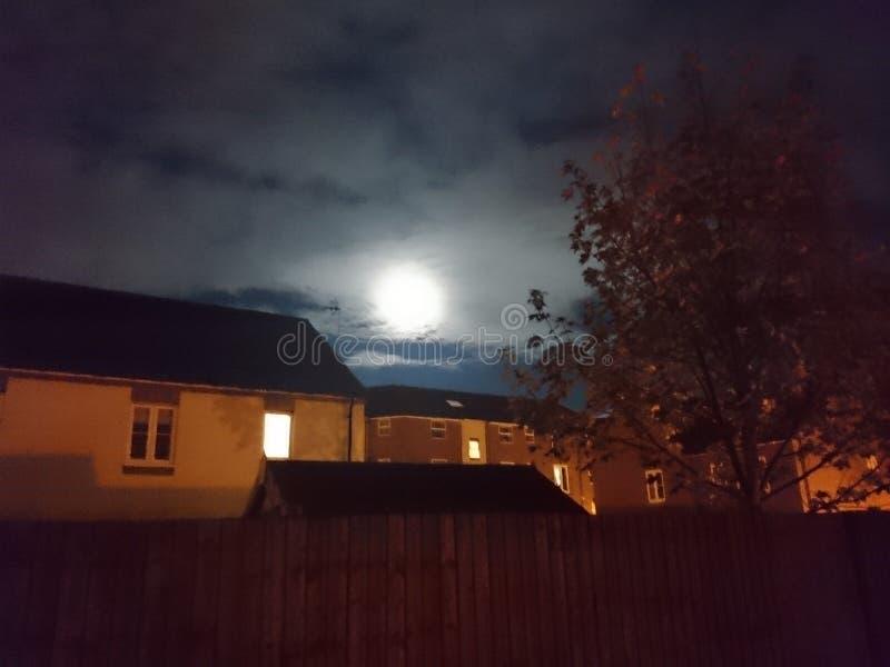 英国月亮 免版税库存照片