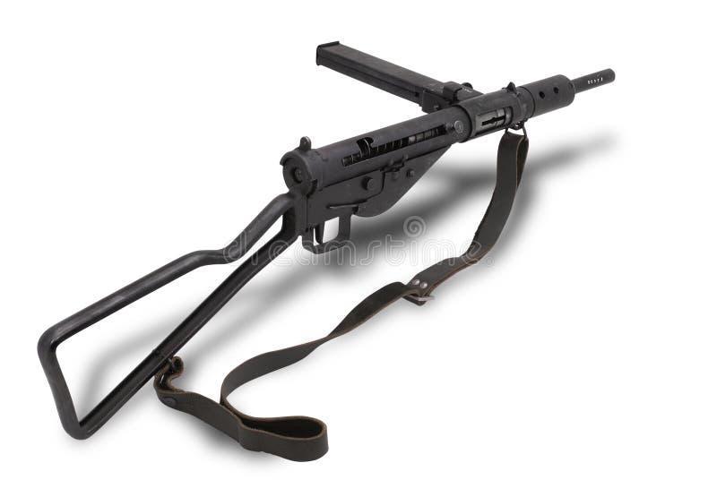 英国枪mk2 sten submachine 库存照片