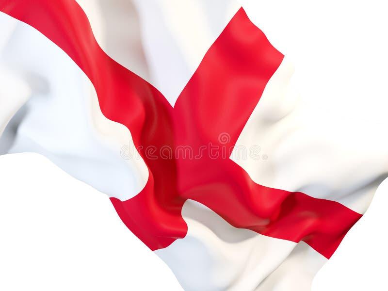 英国的挥动的旗子 皇族释放例证