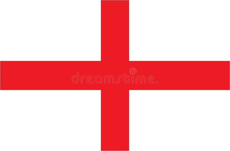 英国的旗子是英国的一部分的国家 10 eps例证盾向量 向量例证