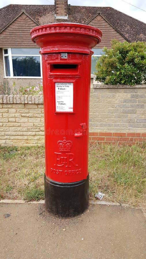英国皇家邮件岗位箱子 图库摄影