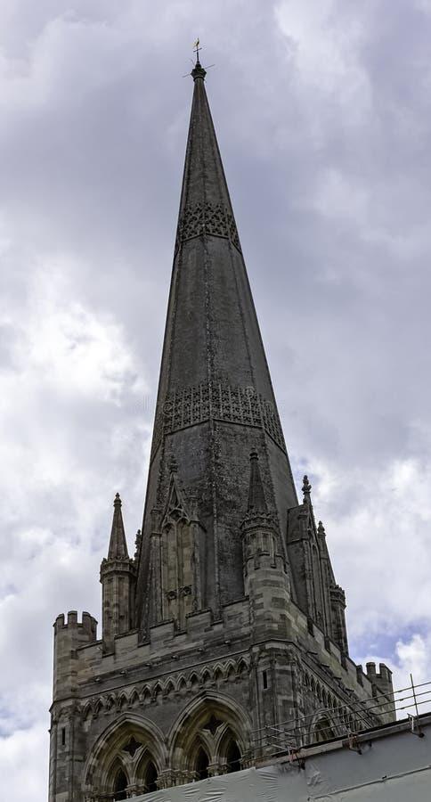 英国西萨塞克斯奇切斯特圣三一教堂 库存图片