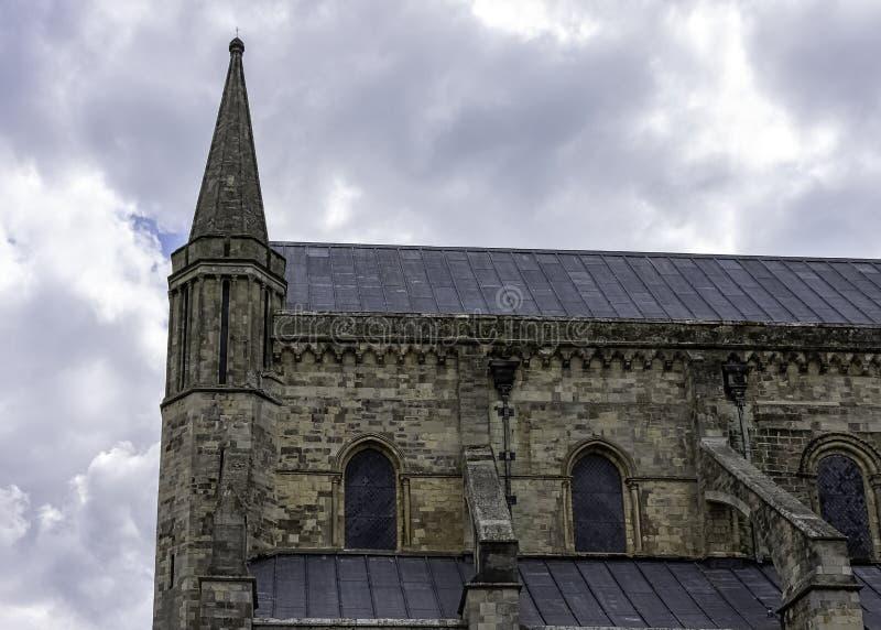 英国西萨塞克斯奇切斯特圣三一教堂 免版税库存照片