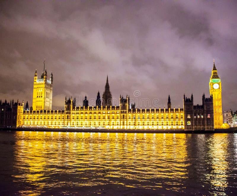 英国议会 免版税库存图片