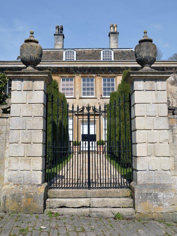 英国豪宅 免版税图库摄影
