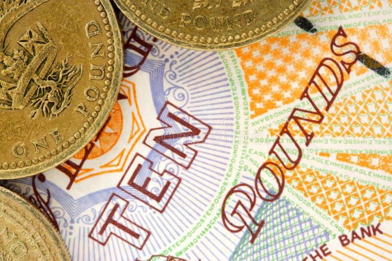 英国货币 免版税图库摄影