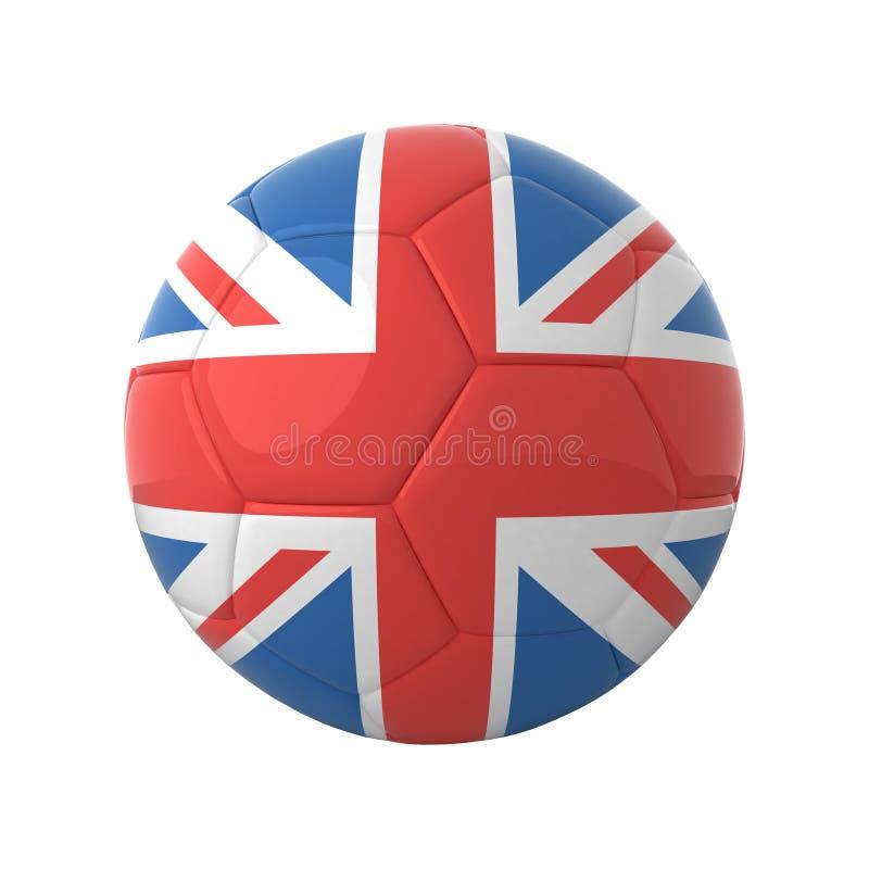 英国足球 向量例证