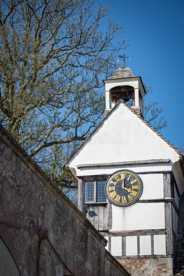 英国钟楼 免版税库存图片