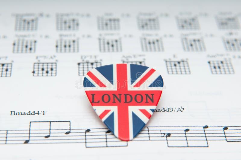 英国音乐 免版税库存照片