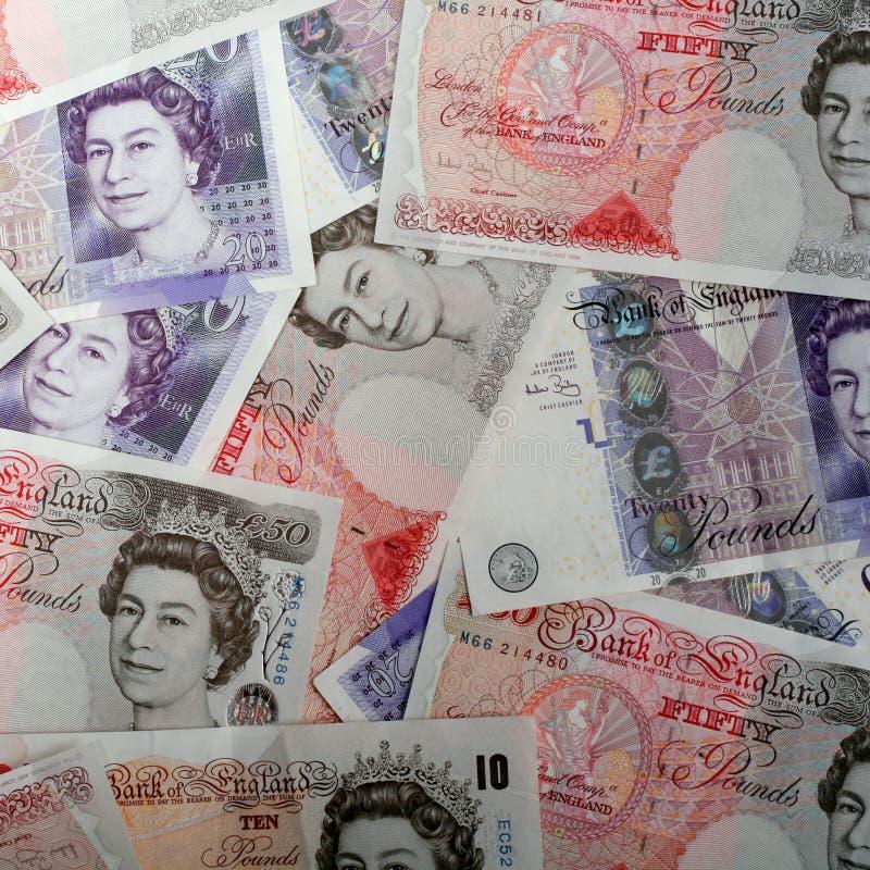 英国高昂声调镑值 免版税图库摄影