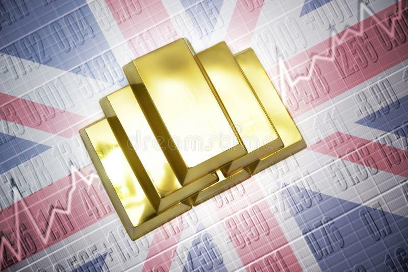 英国黄金储备 皇族释放例证