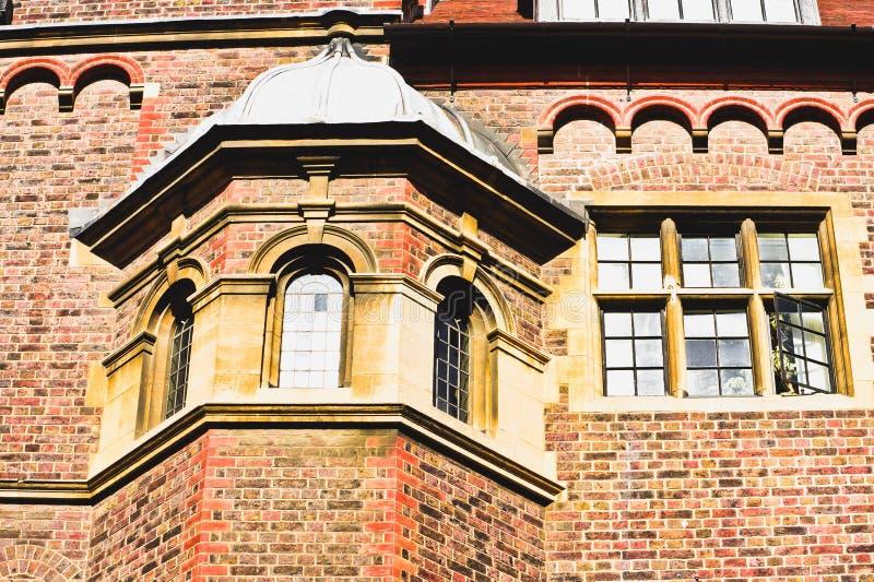 英国建筑学 免版税库存图片
