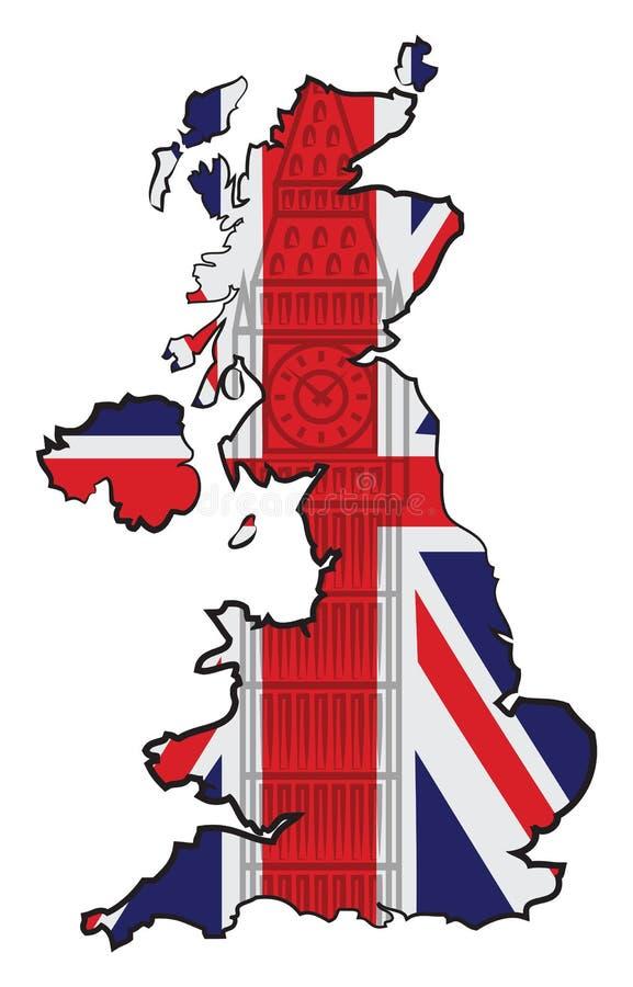 英国 皇族释放例证