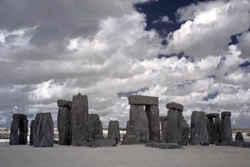 英国henge石头英国 库存图片