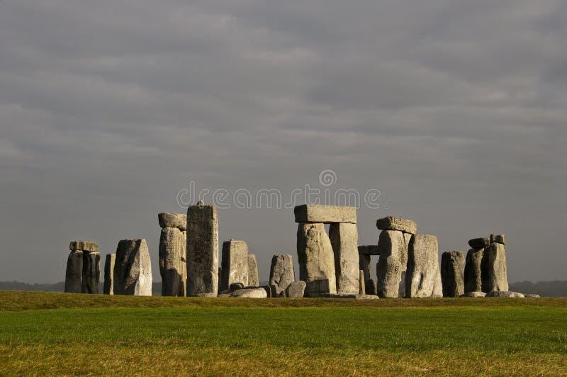 英国stonehenge英国 库存图片