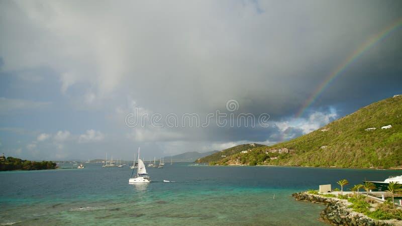 英属维尔京群岛BVI 免版税库存照片