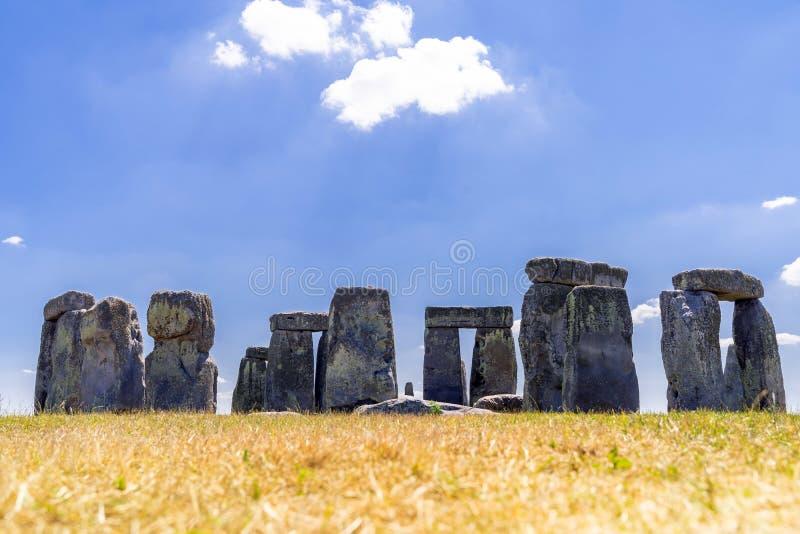 英格兰巨石阵 免版税图库摄影