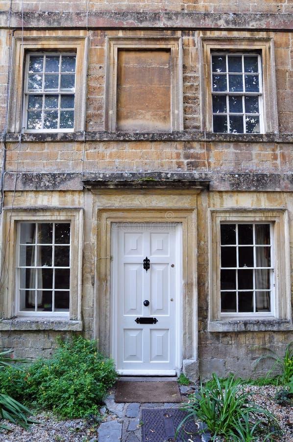 英王乔治一世至三世时期城内住宅 免版税库存照片