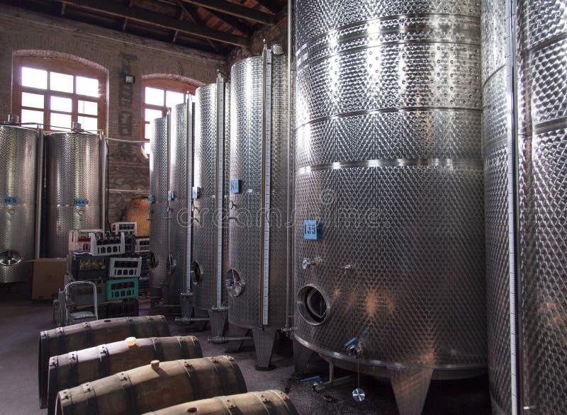 英王乔治一世至三世时期酿酒厂设备 图库摄影
