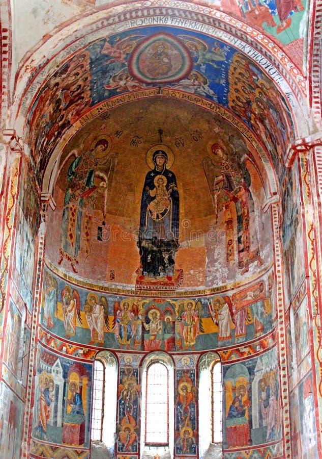 英王乔治一世至三世时期正统修道院Gelati 免版税图库摄影