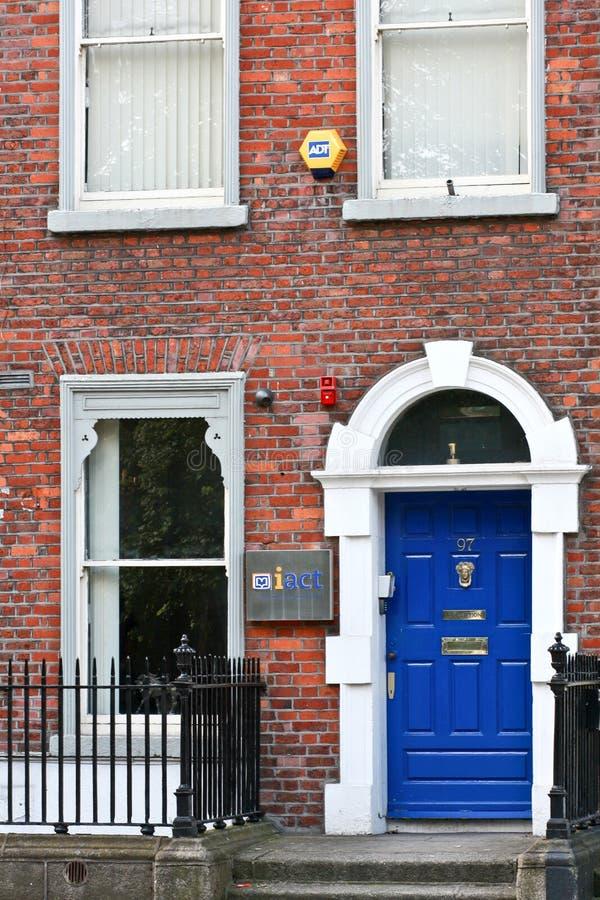英王乔治一世至三世时期门,都伯林,爱尔兰 库存照片