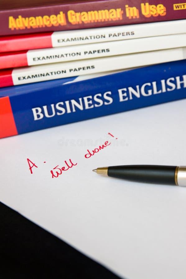 英语了解 免版税库存图片