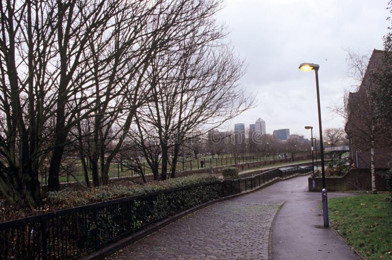 英里末端公园,伦敦 库存照片