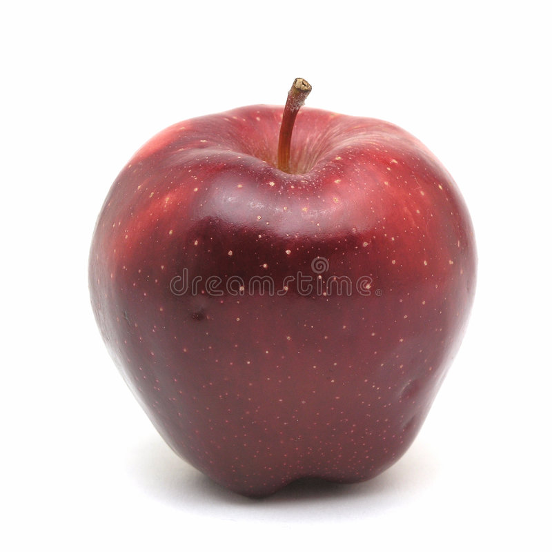 苹果一 免版税库存照片