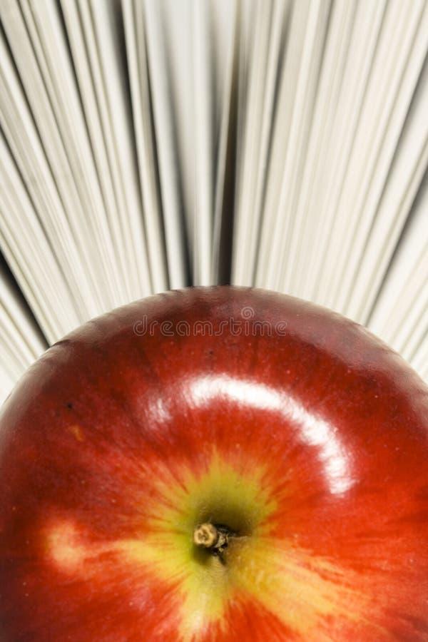 苹果书 库存图片