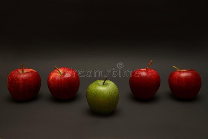 苹果例外 库存照片