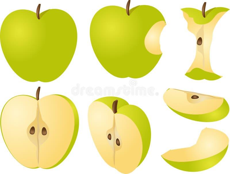 苹果例证 库存例证