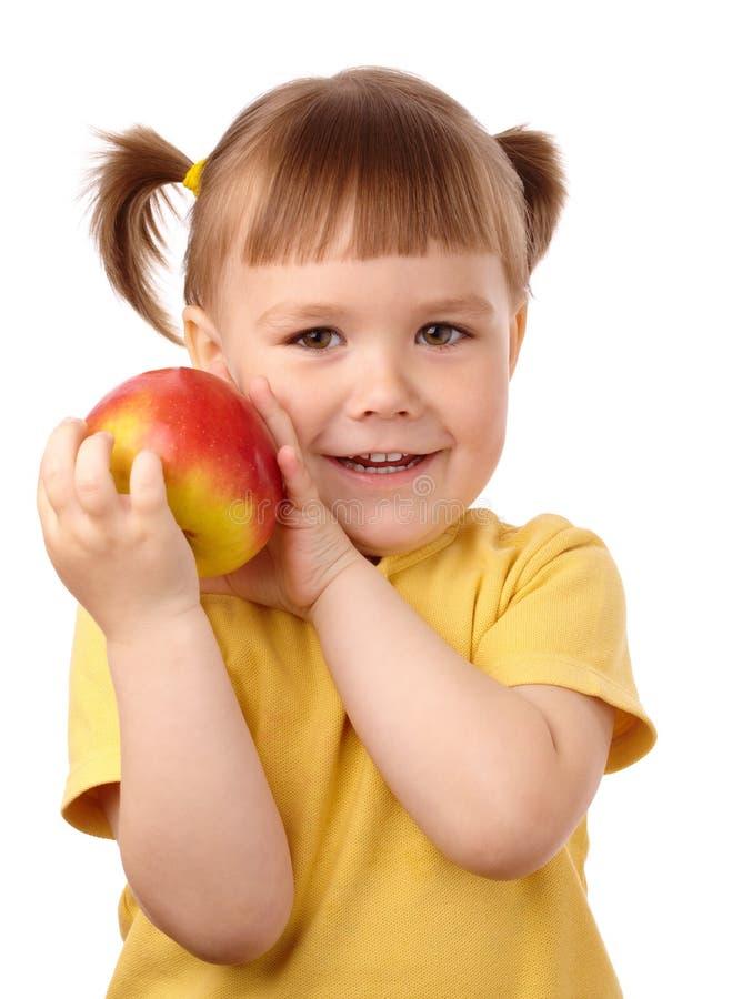 Download 苹果儿童逗人喜爱的红色 库存照片. 图片 包括有 保险开关, 相当, 婴孩, 人力, 面部, 申请人, 生气勃勃 - 15683614