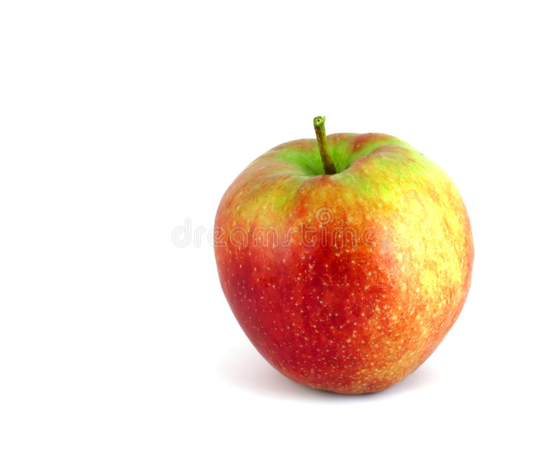 苹果原始的红色 库存照片