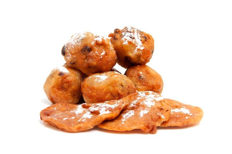 苹果多福饼荷兰语销售量 免版税库存照片