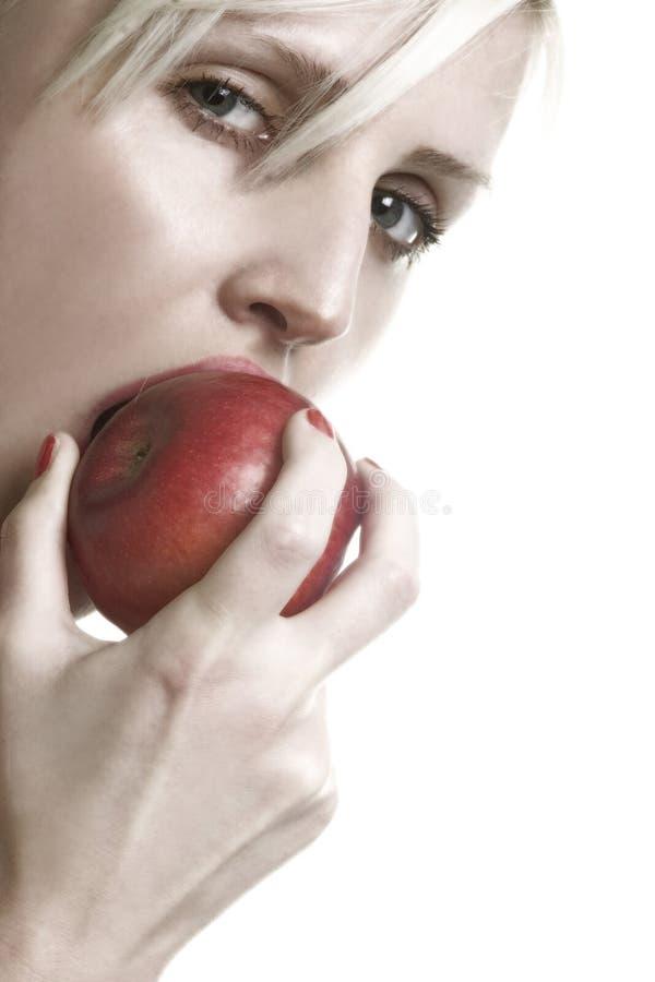 苹果夫人 免版税图库摄影