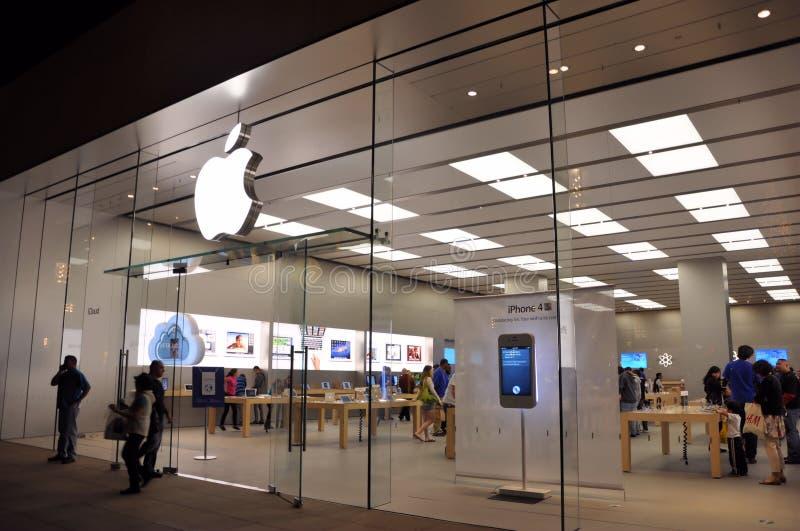苹果存储 库存图片