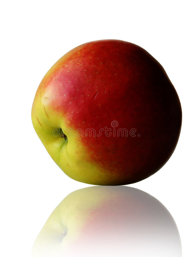 苹果接近  库存图片
