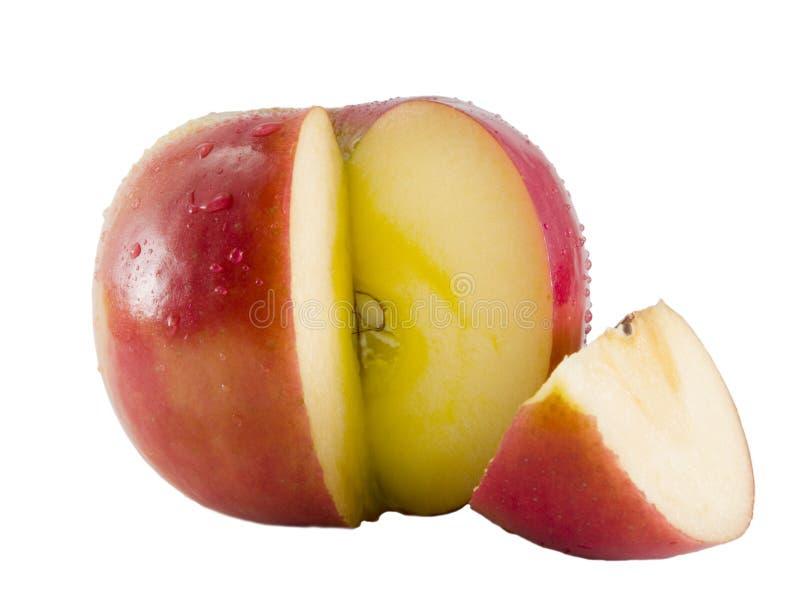苹果新鲜的富士 库存图片