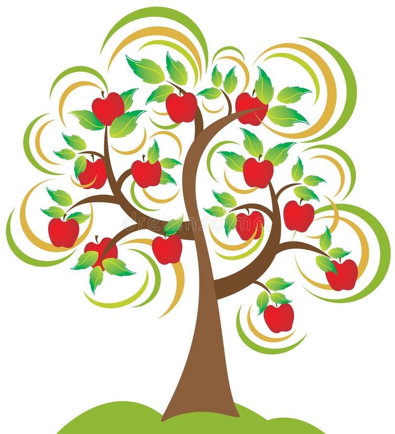 苹果树 库存例证