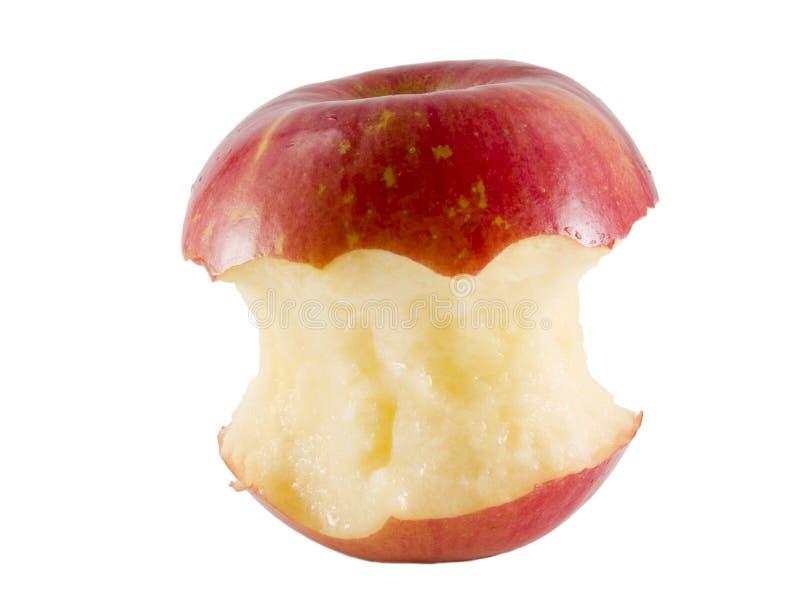 苹果核心富士 免版税库存图片