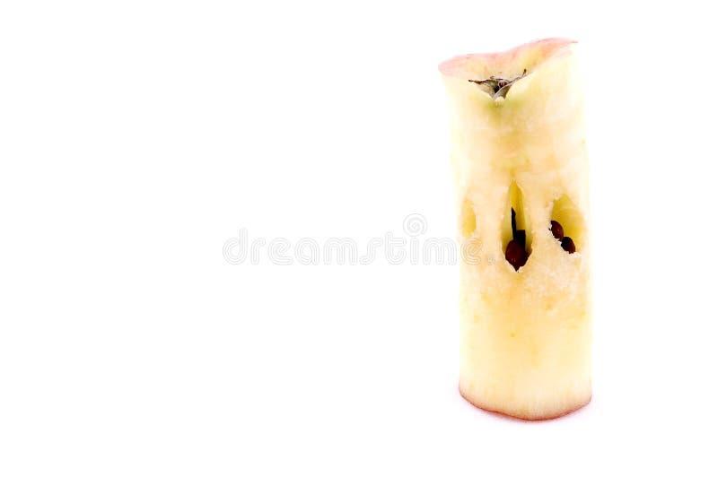 苹果核心 库存照片