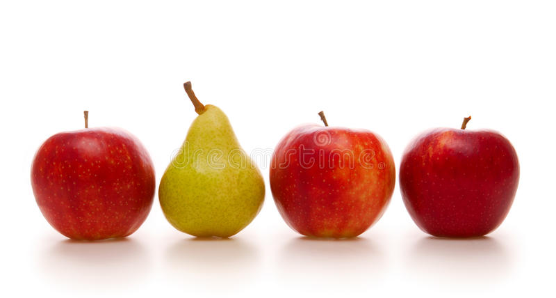 苹果梨 免版税库存照片