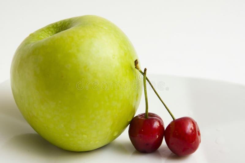 苹果樱桃 图库摄影