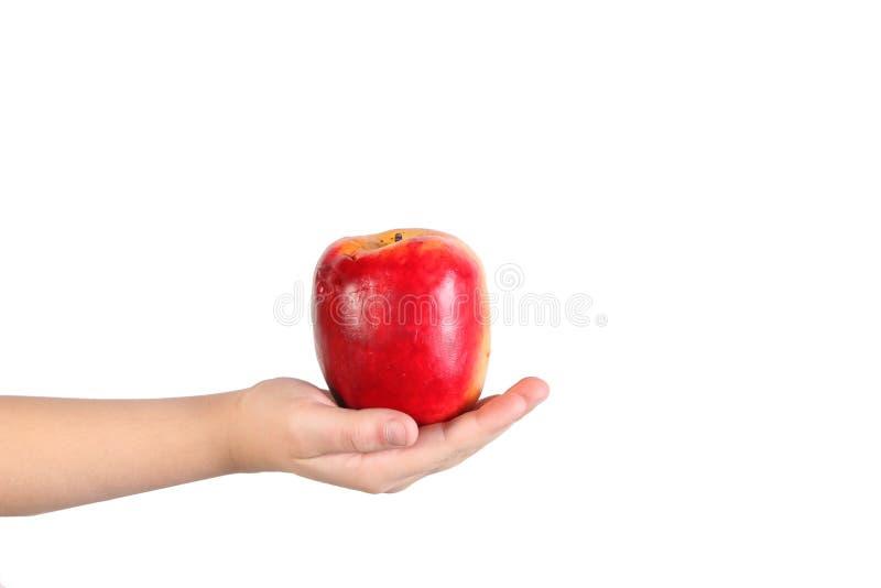 苹果现有量藏品 库存图片