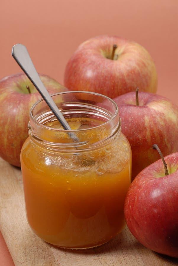 苹果甜点 库存照片