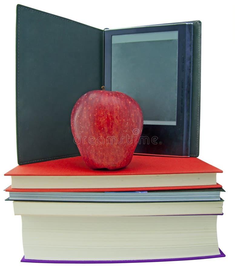 苹果登记ebook阅读程序 库存图片