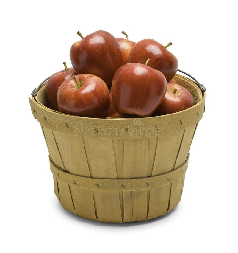 苹果篮子 免版税图库摄影