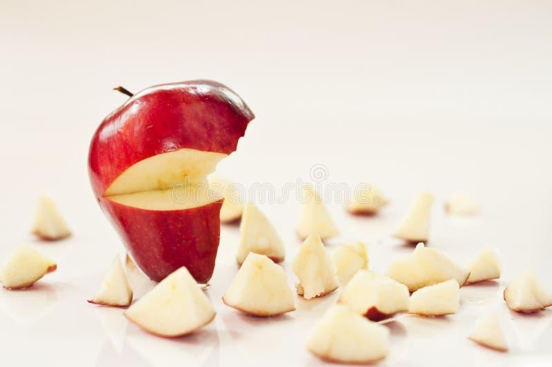 苹果粉碎了 免版税库存图片