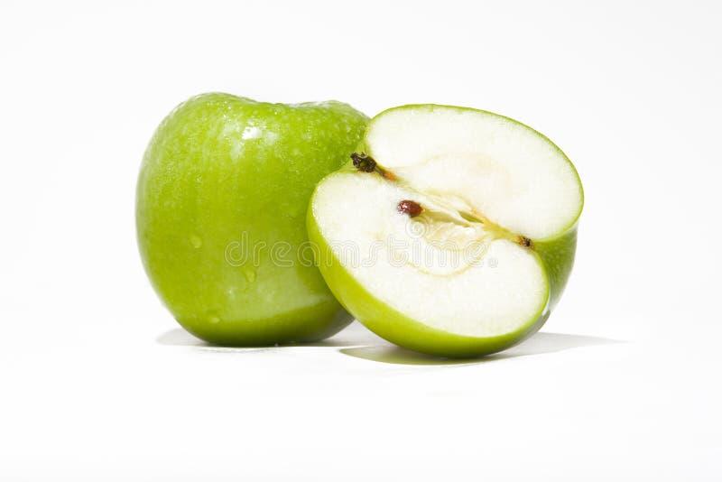 苹果绿色 免版税图库摄影