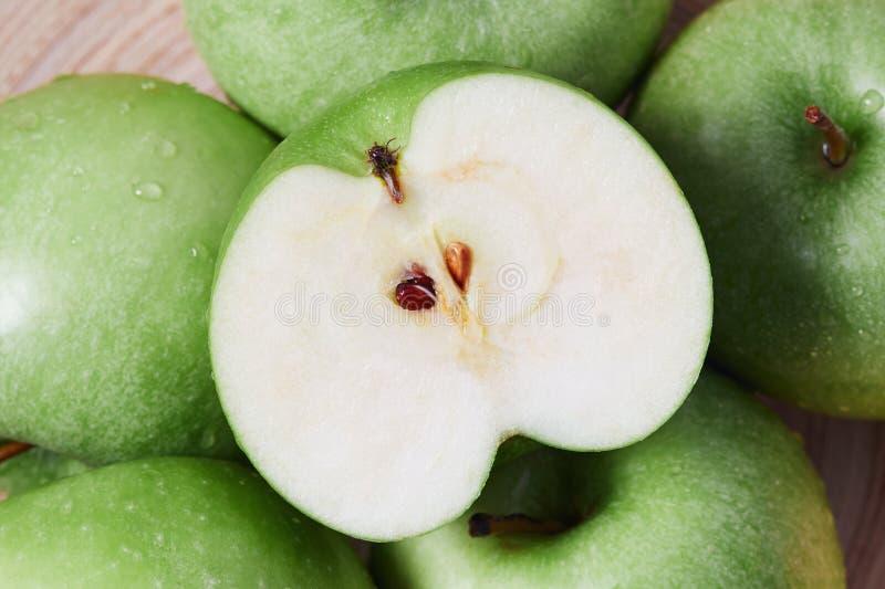 苹果老婆婆绿色匠 免版税库存图片